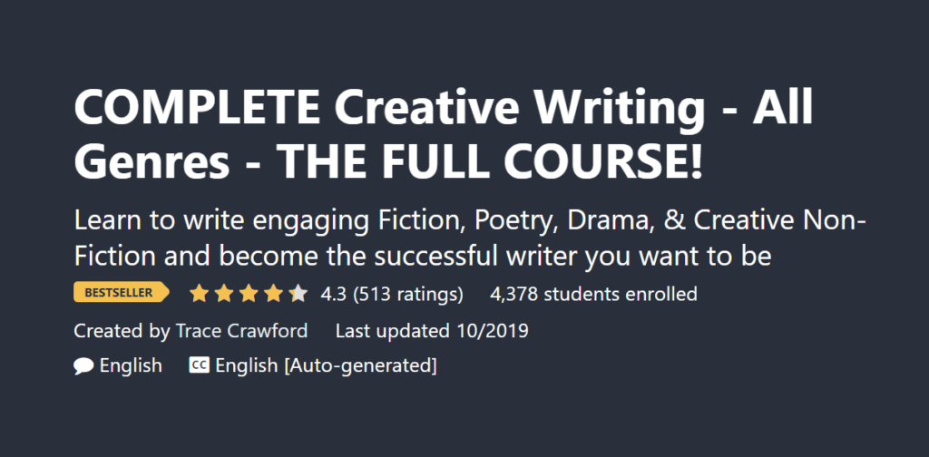 Best Creative Writing Course